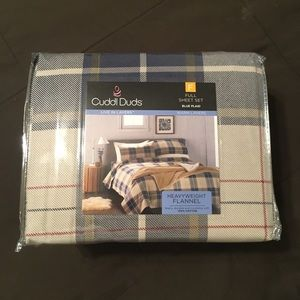Cuddl Duds Heavyweight Flannel Sheets Full Size